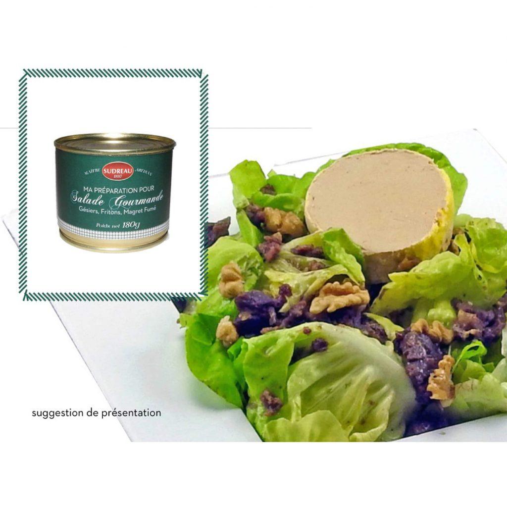préparation salade - sudreau