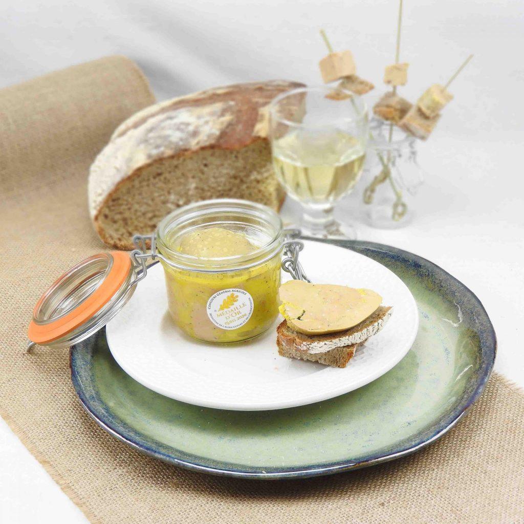 Foie gras de canard - médaille d'or - maison sudreau